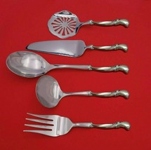 Waltz of Spring by Wallace Sterling Silver Thanksgiving Serving Set 5pc Custom  - $359.00