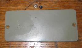 Necchi BU Mira Arm Back Inspection Plate w/Screws - $8.00
