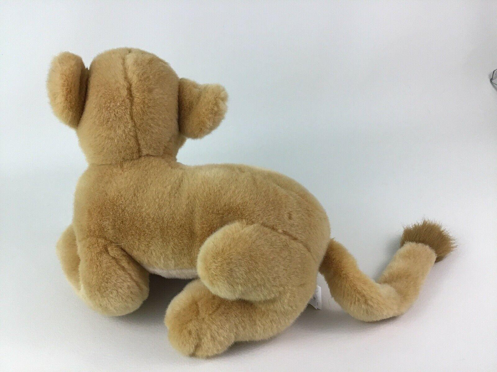 "Disney Store The Lion King Laying Young Nala Lioness 14"" Plush Stuffed Toy image 5"