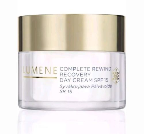 Lumene Complete Rewind Recovery Day Cream SPF 15 1.7oz *Box Not Included*