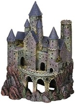 Penn Plax Wizard's Castle Aquarium Decoration Hand Painted with Realisti... - $20.34