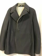 Emporio Armani Men's Gray  / Blue Perforated Jacket Size Eur 52 / US 42 ... - $742.50