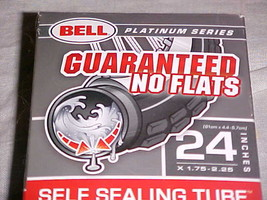 "Bell Platinum Series Self-Sealing Tube 24"" x 1.75 - 2.125 Flat Tech Seal... - $9.99"