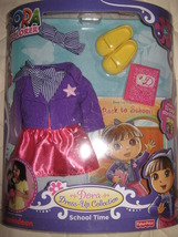 Fisher Price Dora the Explorer 'School Time' collection - $10.00