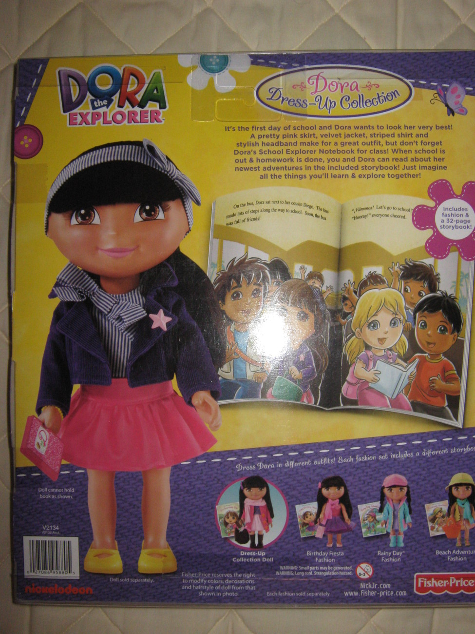 Fisher Price Dora the Explorer 'School Time' collection