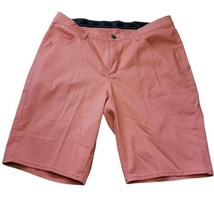 Lee Riders Bermuda Shorts Coral Size 20 Elastic Waist *flaw* - $17.67