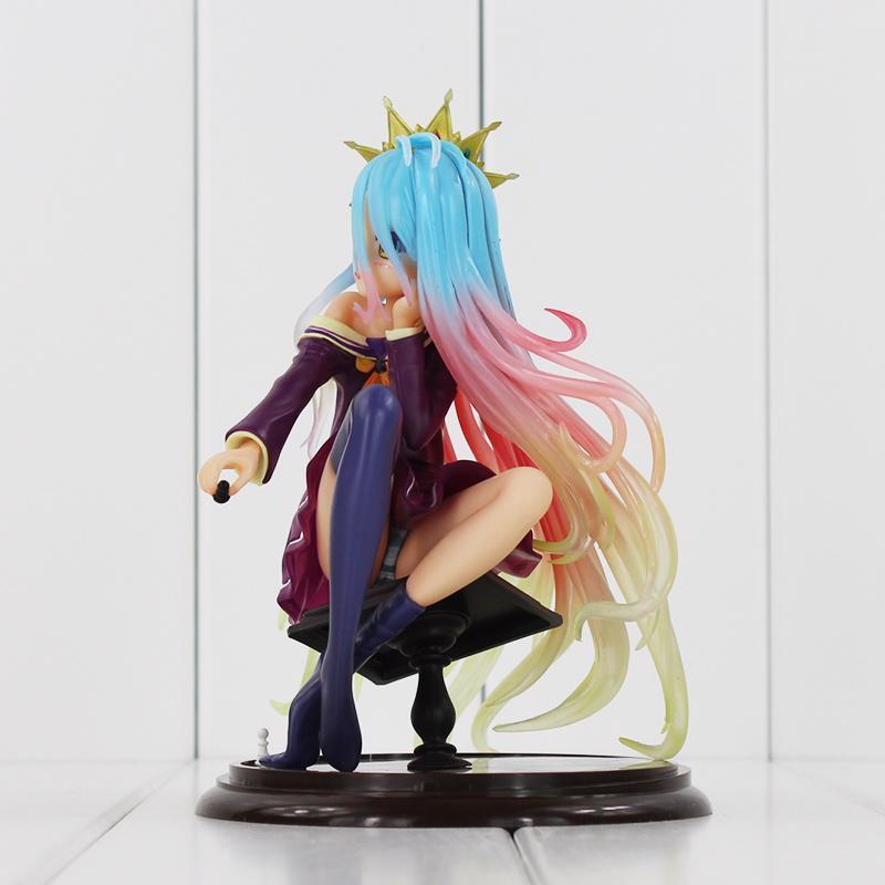 No Game No Life Shiro Anime Action Figure Sexy Model 15cm 1/7 Scale Boxed PVC