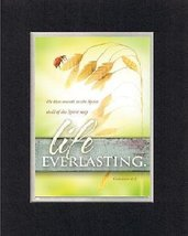 For General Inspiration - Life Everlasting . . . 8 x 10 Inches Biblical/... - $11.14