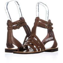 White Mountain Carson Gladiator Flat Sandals 603, Walnut, 6.5 US - $28.79