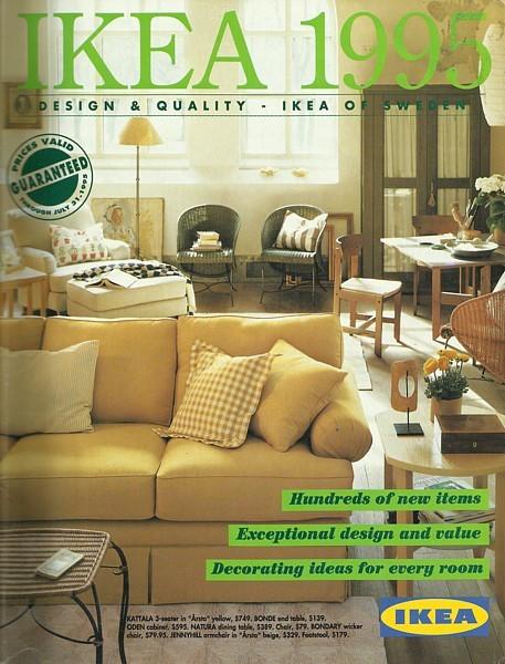 IKEA 1995 home furnishings store catalog magazine