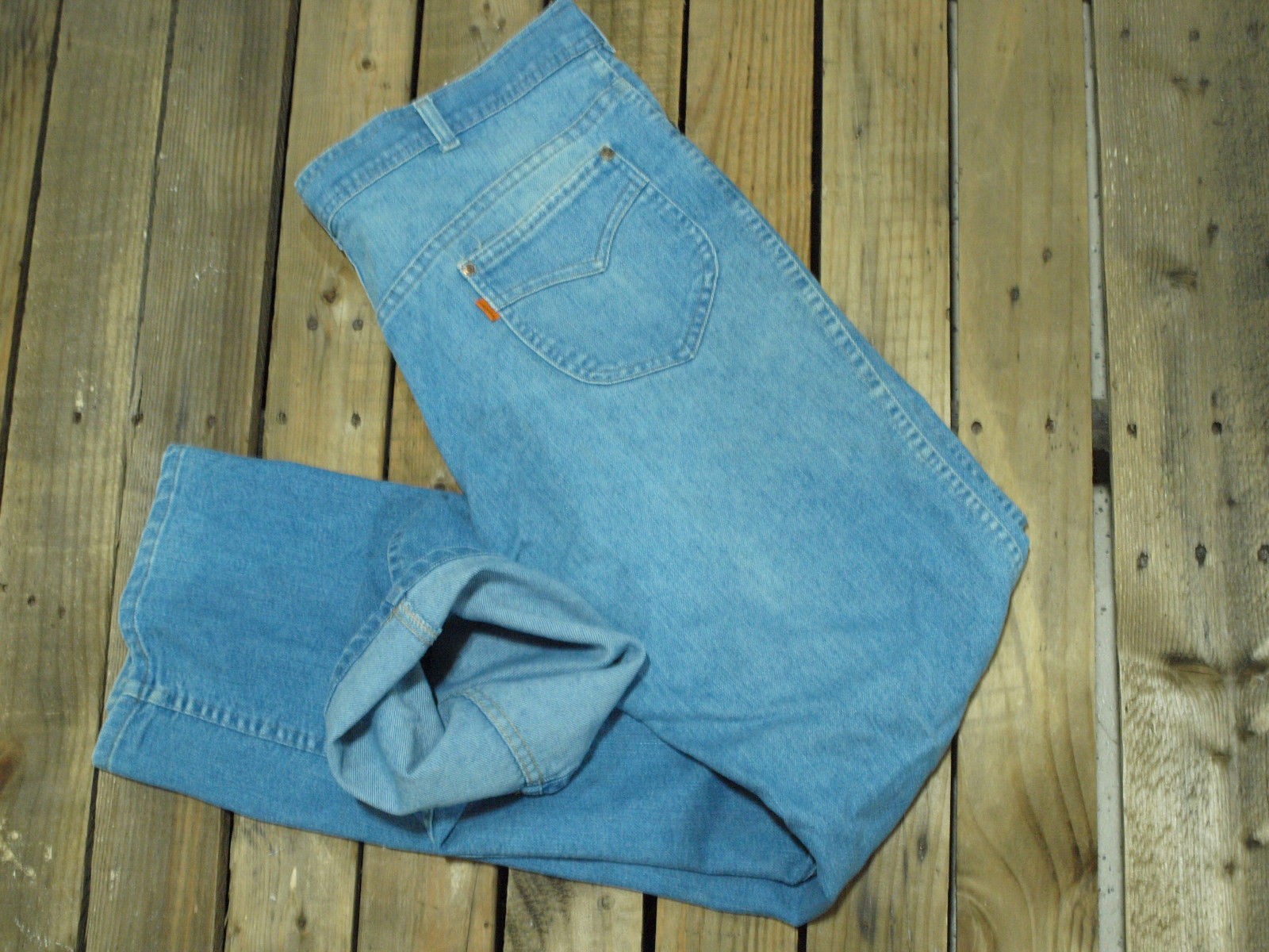 Primary image for VINTAGE LEVIS Jeans talon zip Orange Tab LEVIS for Men True Vintage
