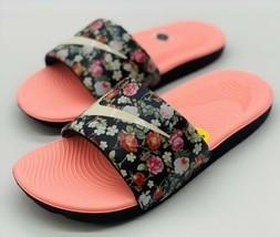 NEW Nike Kawa Vintage Floral Slides BV1226-001 GS Size 6Y Women's Size 7.5 - $49.49