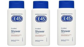 3 packs x E45 Emollient Shower Cream 200ml - $37.00