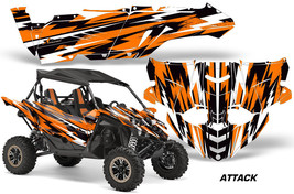 UTV Decal Graphic Kit Side By Side Wrap For Yamaha YXZ 1000R 2015-2018 ATTACK O - $499.95
