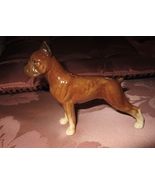 "VTG CH 578 GOEBEL BROWN BOXER DOG FIGURINE 3 1/2"" TALL FIGURE NOS Germany - £9.99 GBP"