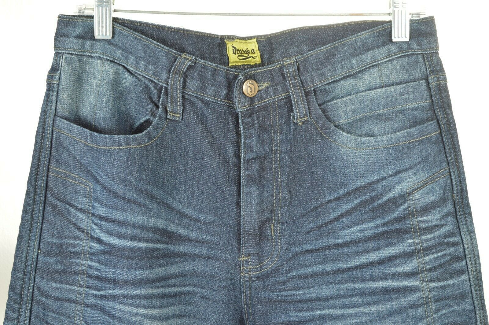 Drayko Jeans Mens 30 x 37 Motorcycle Riding extra long padded - Slightly Used image 4