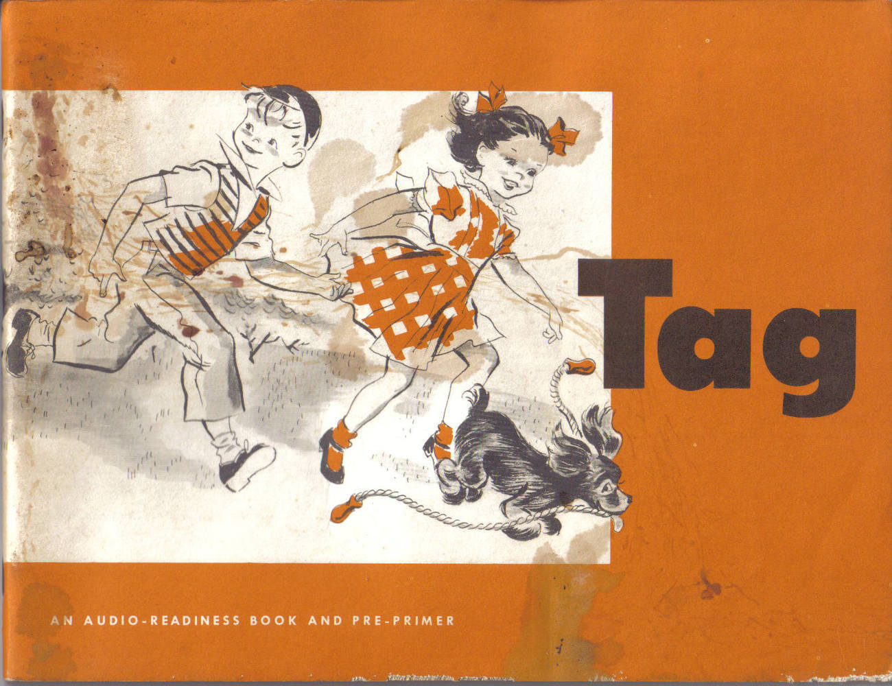 Primary image for TAG-AN AUDIO-READINESS BOOK AND PRE-PRIMER,1952- CORNELIA BR