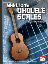 Baritone Ukulele Scales Book/New - $4.99