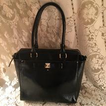 Black Patent Leather Kate Spade Handbag - $90.00