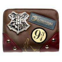 Iagon alley wallet metal badge brown date red patch printed embroidered wallet gift for thumb200