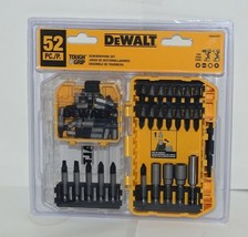 DeWalt DWA52Set Tough Grip ScrewDriving Set 52 Pieces Tough Case Plus image 1