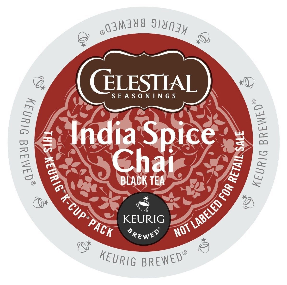 Primary image for Celestial Seasonings India Spice Chai Tea, 24 count Keurig K cups, FREE SHIPPING