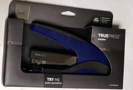 Office Depot Brand  Truepress Reduced Effort Stapler Blue/Black (LOC TUB... - $18.69