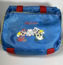Official Nintendo NES Z Bag Carrying Case - 1988 Mario & Luigi Vintage - $33.64