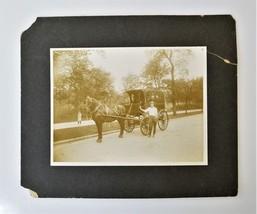 antique FARQUHAR TRUCKING COMPANY york pa PHOTOGRAPH horse carriage man #5 - $68.95