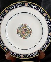 "Wedgwood Runnymede Blue Salad Plates 8.25"" (2) image 3"
