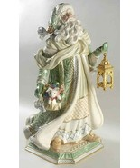 Fitz and Floyd Santa Claus Figurine Gregorian Signature Collection RARE! - $405.90