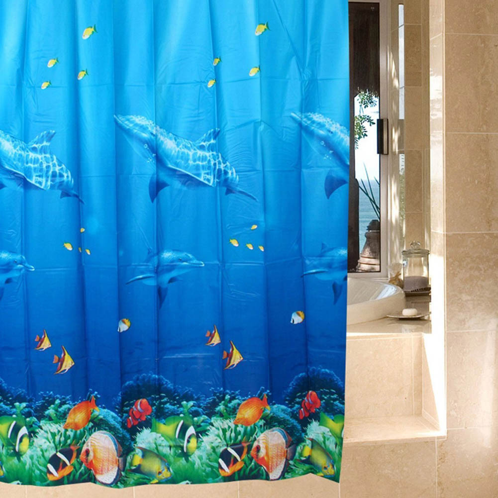 Waterproof Ocean Shower Curtains Polyester and 50 similar items