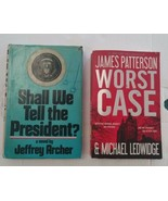 Lot 2 Novels Worst Case and Shall We Tell The President? by Ledwidge ft ... - £9.38 GBP