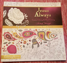 Jesus Calling Adult Coloring Book: Creative Coloring & Hand Lettering - $15.99