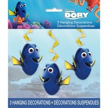 "Finding Dory 3 Hanging Swirls 26"" Decorations  - $3.41"