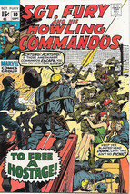 Sgt. Fury and His Howling Commandos Comic Book #80 Marvel 1970 VERY FINE+ - $21.20