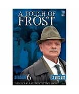 2 DVD A Touch of Frost - Season 6: David Jason Bruce Alexander Matt Bardock - $9.89