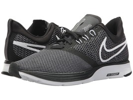 Women's Nike Zoom Strike Running Shoes, AJ0188 001 Multiple Sizes Black/White/Gr - $79.95