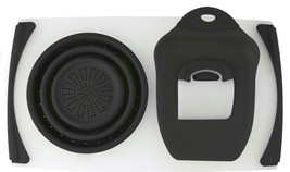 Dexas Over the Sink Counter Strainer Board - Scoop - Scraper - $59.35