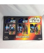Star Wars Collection 3 Pack Han Solo Chewie Lando Warehouse Exclusive Vi... - $34.58