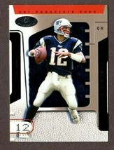 2002 Fleer Hot Prospects #9 Tom Brady Card (2ND Year) New England Patriots - $19.75