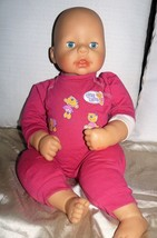 ZAPF CREATION 2005 Spanish Baby Girl Cloth body PVC Head, arms & legs 17... - $19.55