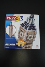 "HASBRO 3D Foam Backed 52 Piece Beginner Puzzle BIG BEN 13"" X 2.5"" x 2.45 New - $9.89"