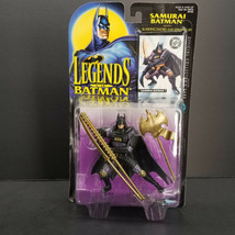 Samurai Batman Legends of Action Figure Mint on Excellent +Card - $39.00