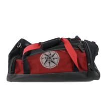 Vintage 90s Marlboro Compass Logo Large Duffle Bag Gym Bag Carry On Red ... - $44.50