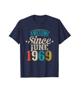 49th Birthday Awesome Since June 1969 shirt - $17.99+