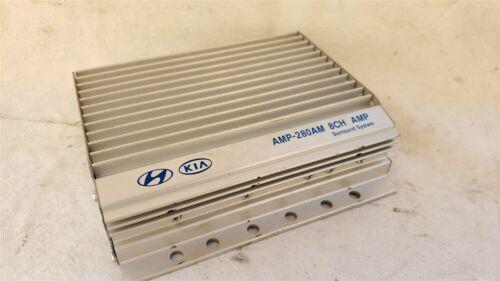 08-11 Kia Soul Amplifier AMP-280AM 8CH AMP 96370-2K000