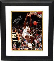 Shaquille O'Neal signed LSU Tigers 16x20 Photo Custom Framed #33 (dunk) - $219.95