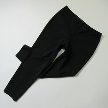 NWT Elie Tahari Edition 1974 Molita in Black Stretch Wool Slim Ankle Pan... - $43.99