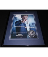 Chris Hemsworth 2016 Tag Heuer Torneau Framed 11x14 ORIGINAL Advertisement - $32.36